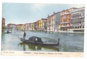 Venezia Canal Grande e Palazzo Ca d'Oro Venice Italy UDB