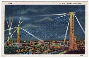 Sky Ride, Chicago World's Fair - Century of Progress