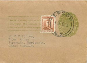 New Zealand Auckland Entier Postal Stationery 1953
