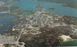 Aerial View , YELLOWKNIFE, NWT, Canada, 50-60s