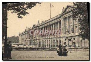 Old Postcard Paris The Marine Ministry