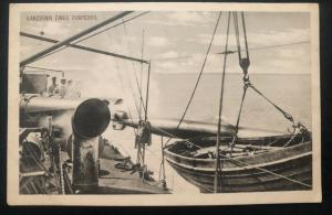 Mint Germany Real Picture Postcard WWI Torpedo Launching 1916