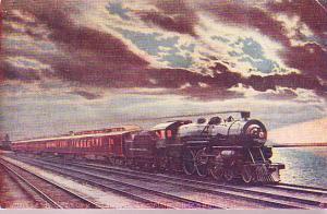 Twentieth Century Limited Leaving Chicago - Artist's Image