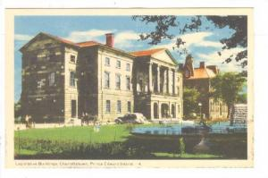 Legislature Bldg , Charlletown , P.E.I.  , Canada , 30-40s