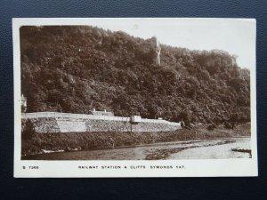 Herefordshire SYMONDS YAT RAILWAY STATION c1913 RP Poscard by Kingsway
