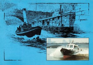 Postcard, First Day Issue 1979, Port of London, The River Police KI0