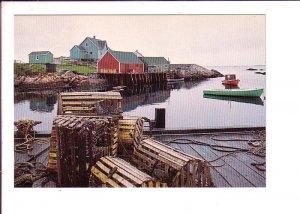 Peggy's Cove, Nova Scotia, Canada, Canada Post Prestamped