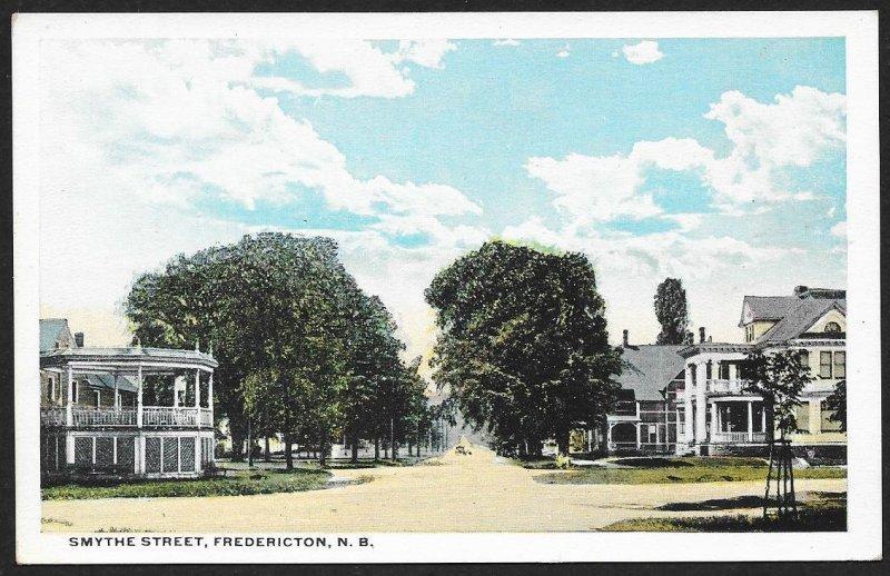 Smythe Street Fredericton CANADA Unused c1920s