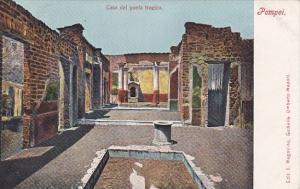 Italy Pompei Casa del poeta tragico