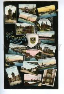 132821 GERMANY GRUSS aus SURECK Vintage postcard