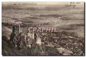 Ruin Giersberg - Old Postcard