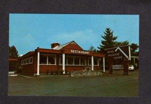 NY Keyes Pancake House Restaurant Old Forge New York Postcard