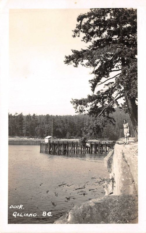 br106345 dock galiano  canada british columbia