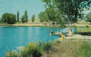 SANTA ROSA , New Mexico , 1958 ; Park Lake