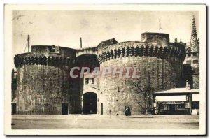 Postcard Old St Malo La Grande Porte