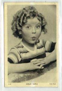 Child Actress SHIRLEY TEMPLE (1930s) Fox Film S27