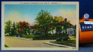 STD Vintage Beautiful Residences on South Main Street Anderson South Carolina Un