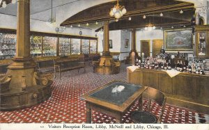 Visitors Reception Room, Libby, McNeil & Libby, Chicago, Ill.