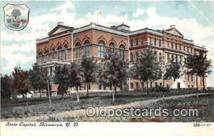 State Capitol Bismarck, ND, USA Postcard Post Card Bismarck, ND, USA State Ca...