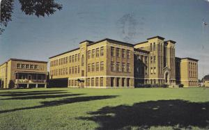 Exterior View, Ecole Secondaire Saint-Frederic, Drummondville, Quebec, Canada...