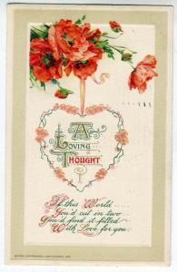 Valentine - Heart in Flowers by John Winsch