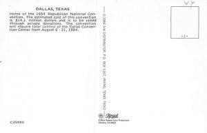 Publican national convention Dallas 1984 Political Unused