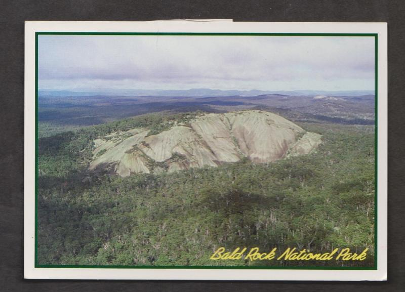 Aerial View Of Bald Rock - Bald Rock National Park - Used