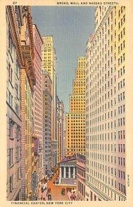 Financial Center New York City, New York NY