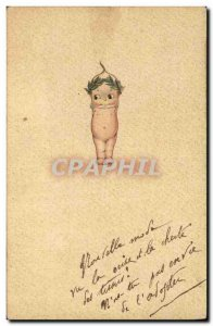 Old Postcard Fantasy Illustrator Child Bebe