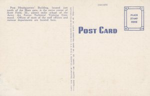 SCOTT FIELD , Illinois , 1930-40s ; Post Headquarters
