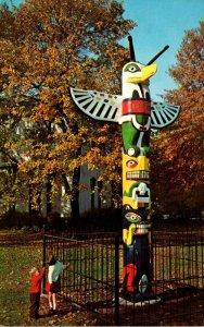 Indiana Terre Haute Historical Museum Tootooch Thunder Bird Totem Pole