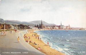 Scotland Victoria Promenade, Largs, Coast Plage Beach Strand