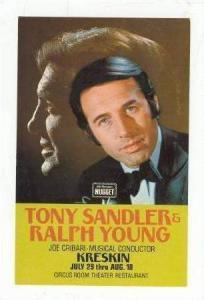 Tony Sandler & Ralph Young,John A. Nugget,Restaurant