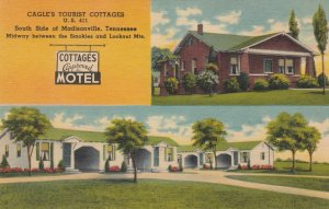 MADISONVILLE, Cagle's Tourist Cottages, Tennessee, 30-40s