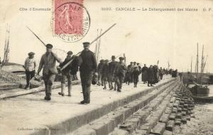 CPA CANCALE - Le Débarquement des Marins (112008)
