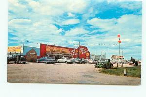 Postcard south Dakota Murdo Pioneer Auto Museum American Antique Cars   # 3113A