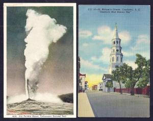 POSTCARD Collection (86) Scenery Buildings Towns mixed eras