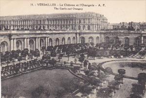 France Versailles Le Chateau et l'Orangerie