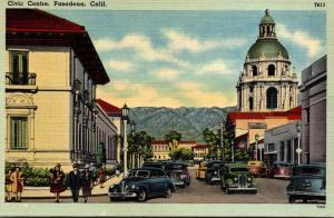 California Pasadena Civic Avenue