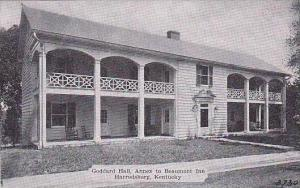 Kentucky Harrodsburg Goddard Hall Annex to Beaumont Inn Dexter Press