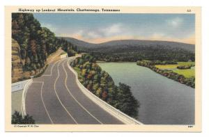 Chatanooga Tennessee US Highway 41 Lookout Mountain Postcard