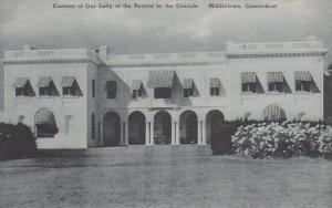 Connecticut Middletown Main Entrance Of The Convent Of Our Lady Of The Retrea...