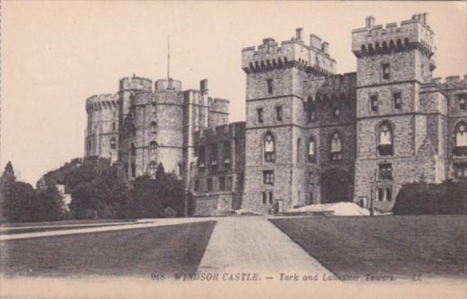 England Windsor Castle York and Lancaster Towers