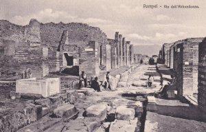 POMPEI, Campania, Italy, 1900-1910's; Via Dell'Abbondanza