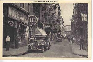NYC Chinatown B&W