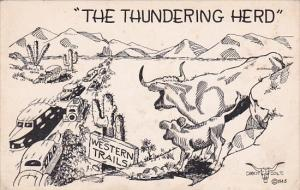 Humour The Thundering Herd Western Trails 1948