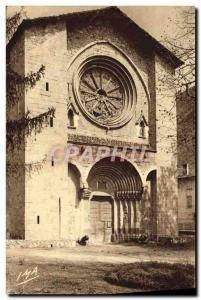 Old Postcard Digne les Bains Notre Dame du Bourg