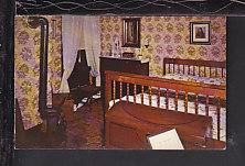 Mary's Bedroom Room,Lincoln Home,Springfield Postcard BIN