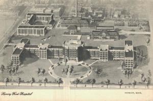 USA Henry Ford Hospital Detroit 01.71