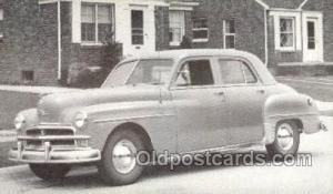 1950 Plymouth Special Deluxe 4 Door Sedan Automotive, Autos, Cards Old Vintag...